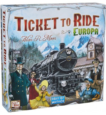 TICKET TO RIDE : EUROPA