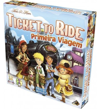 TICKET TO RIDE : PRIMEIRA...