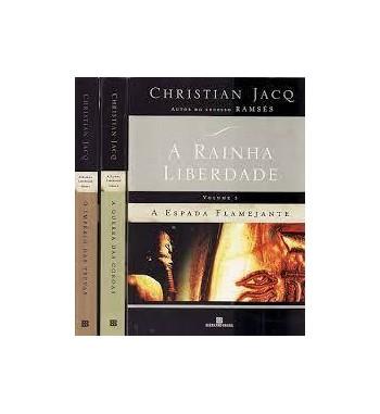 A RAINHA LIBERDADE : 3 VOLUMES