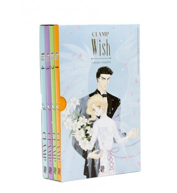 WISH - BOX 4 VOLUMES