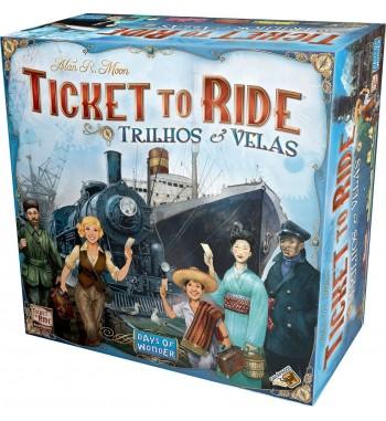 TICKET TO RIDE : TRILHOS E...